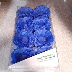 Forminha para Doces Finos - R82 Crepom Azul Médio - 40 unidades - MaxiFormas