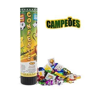 Lança Confete Confeste Kids Adesivos Campeões - 21 cm - Mundo Bizarro