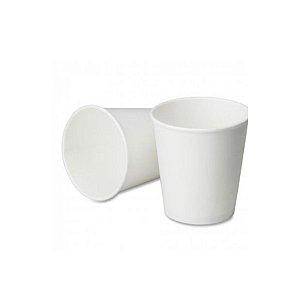 Copo de papel Branco Biodegradável - 40 un - 210 ml - Silver Festas