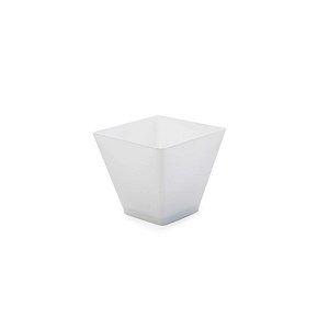 Mini Cumbuca Quadrada Branca - 12 un - 60 ml - Silver Festas