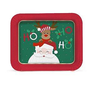 Bandeja Laminada R5 Noite Feliz - 01 unidade - Cromus Natal - Rizzo Embalagens