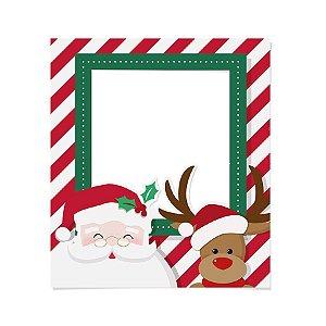 Painel para Foto Decorativo Noite Feliz 60x74cm - 01 unidade - Cromus Natal - Rizzo Embalagens