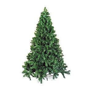 Árvore de Natal Cordoba Verde 3,60m - 01 unidade - Cromus Natal - Rizzo Embalagens