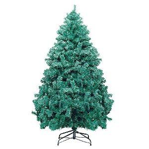 Árvore de Natal Santiago Verde 2,10m - 01 unidade - Cromus Natal - Rizzo Embalagens
