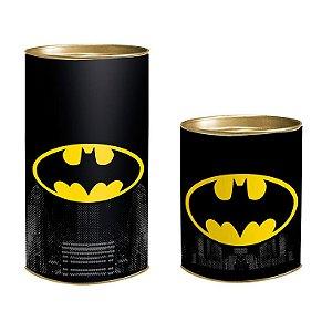 Lata para Lembrancinhas Batman - 01 unidade - Cromus - Rizzo Embalagens