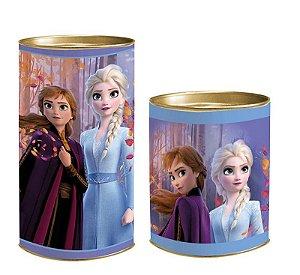 Lata para Lembrancinhas Frozen - 01 unidade - Cromus - Rizzo Embalagens