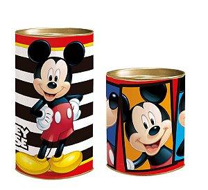 Lata para Lembrancinhas Mickey - 01 unidade - Cromus - Rizzo Embalagens