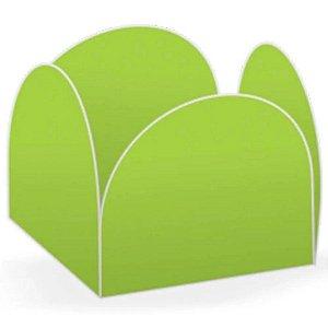 Forminhas para Doces 4 Pétalas Verde Neon 50 unidades NC Toys