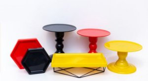 Kit Comemore MAIS - 24 Vermelho, Preto e Amarelo - 01 Unidade - Só Boleiras - Rizzo Festas