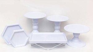 Kit Comemore MAIS Premium - 26 Branco - 01 Unidade - Só Boleiras - Rizzo Festas