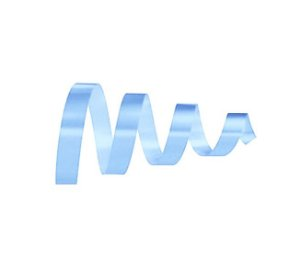 Rolo Fita Lisa Azul Claro - 15mm x 50m - EmFesta - Rizzo Embalagens