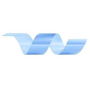Rolo Fita Lisa Azul Claro - 30mm x 50m - EmFesta - Rizzo Embalagens
