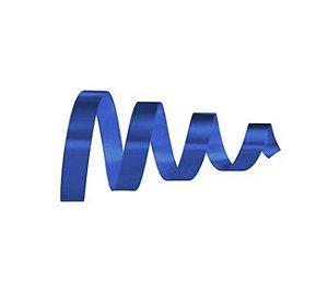 Rolo Fita Lisa Azul Escuro - 15mm x 50m - EmFesta - Rizzo Embalagens