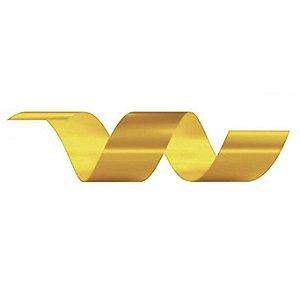 Rolo Fita Lisa Dourado - 30mm x 50m - EmFesta - Rizzo Embalagens