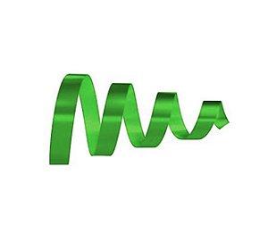 Rolo Fita Lisa Verde Escuro - 15mm x 50m - EmFesta - Rizzo Embalagens