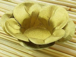 Forminha para Doces Floral Leka Colorset Dourado - 40 unidades - Decorart - Rizzo Embalagens