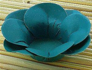Forminha para Doces Floral Leka Colorset Azul Turqueza - 40 unidades - Decorart - Rizzo Embalagens