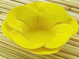 Forminha para Doces Floral Leka Colorset Amarelo Claro - 40 unidades - Decorart - Rizzo Embalagens