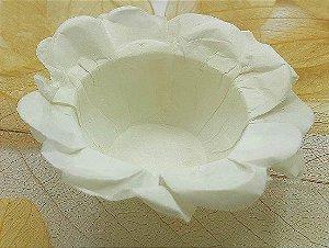 Forminha para Doces Floral em Seda Palha - 40 unidades - Decorart - Rizzo Embalagens