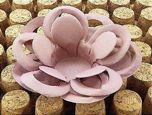 Forminha para Doces Floral Loá Colorset Rosa Antigo - 40 unidades - Decorart - Rizzo Embalagens