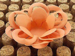 Forminha para Doces Floral Loá Colorset Coral - 40 unidades - Decorart - Rizzo Embalagens