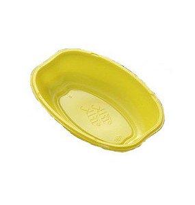 Cumbuca Oval Descartável 10cm - Amarelo - 10 unidades - Trik Trik - Rizzo Embalagens