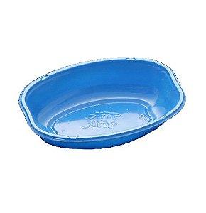 Cumbuca Oval Descartável 10cm Azul - 10 unidades - Trik Trik - Rizzo Embalagens
