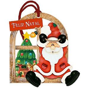 Decor Home Tag 7 Natal - Feliz Natal - DHT7N-002 - LitoArte - Rizzo Embalagens