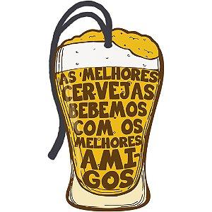 Decor Home Tag 2 - As Melhores Cervejas... - DHT2-033 - LitoArte - Rizzo Embalagens