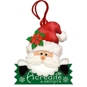 Decor Home Tag 4 Natal - Acredite Sempre- DHT4N-001 - LitoArte - Rizzo Embalagens