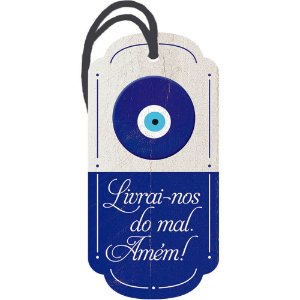 Decor Home Tag 2 Olho Grego DHT2-006 - Litoarte - Rizzo Embalagens