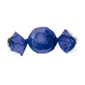 Papel Trufa 14,5x15,5cm - Metalizado Azul - 100 unidades - Cromus - Rizzo Embalagens