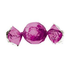 Papel Trufa 14,5x15,5cm - Metalizado Pink- 100 unidades - Cromus - Rizzo Embalagens