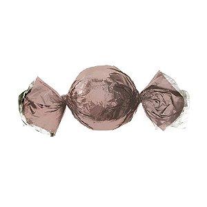Papel Trufa 14,5x15,5cm - Metalizado Rose Gold - 100 unidades - Cromus - Rizzo Embalagens