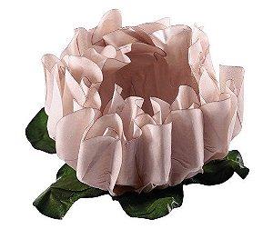 Forminha para Doces Finos - Rosa Maior Palha - 40 unidades - Decora Doces - Rizzo Festas