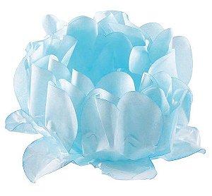 Forminha para Doces Finos - Rosa Maior Azul Candy 40 unidades - Decora Doces - Rizzo Festas