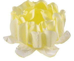 Forminha para Doces Finos - Rosa Maior Amarelo Candy 40 unidades - Decora Doces - Rizzo Festas