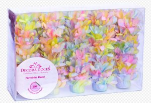 Forminha para Doces Finos - Madri Tie Dye Candy - 50 unidades - Decora Doces - Rizzo Festas