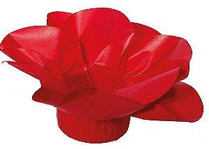Forminha para Doces Finos - Copo de Leite Vermelho 30 unidades - Decora Doces - Rizzo Festas