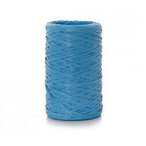 Fio de Ráfia Azul Claro - 50 metros - Rizzo