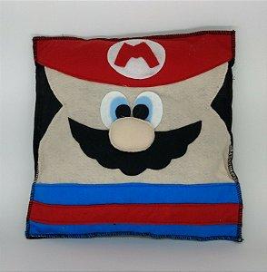 Almofada Mario em Feltro - 01 Unidade - Pé de Pano - Rizzo Festas