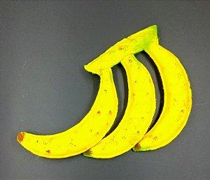 Banana em Feltro - 01 Unidade - Pé de Pano - Rizzo Festas
