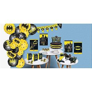 Kit Festa Batman - Festcolor - Rizzo Festas