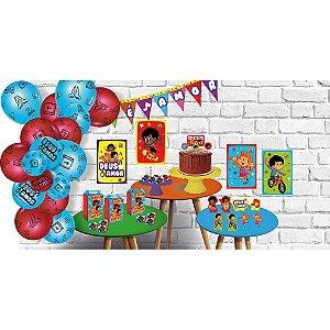 Kit Festa 3 Palavrinhas - Festcolor - Rizzo Festas