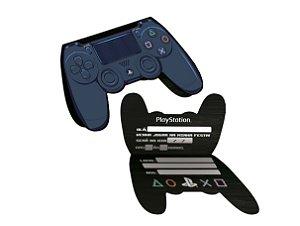Convite Festa Playstation - 08 unidades - Festcolor - Rizzo Festas