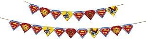 Faixa Decorativa Festa Superman - Festcolor - Rizzo Festas