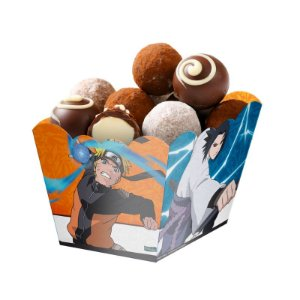 Cachepot Festa Naruto - 08 unidades - Festcolor - Rizzo Festas