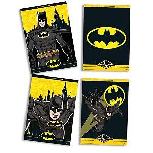 Quadro Decorativo Festa Festa Batman- 04 unidades - Festcolor - Rizzo Festas