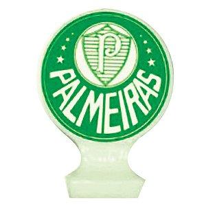 Vela Emblema Festa Palmeiras - 1 unidade - Festcolor - Rizzo Embalagens e Festas