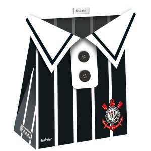 Caixa Surpresa Camisa Festa Corinthians - 8 unidades - Festcolor - Rizzo Embalagens